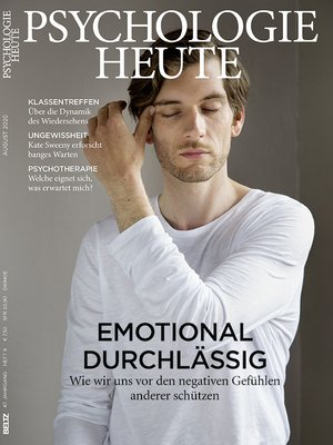 Psychologie Heute Cover