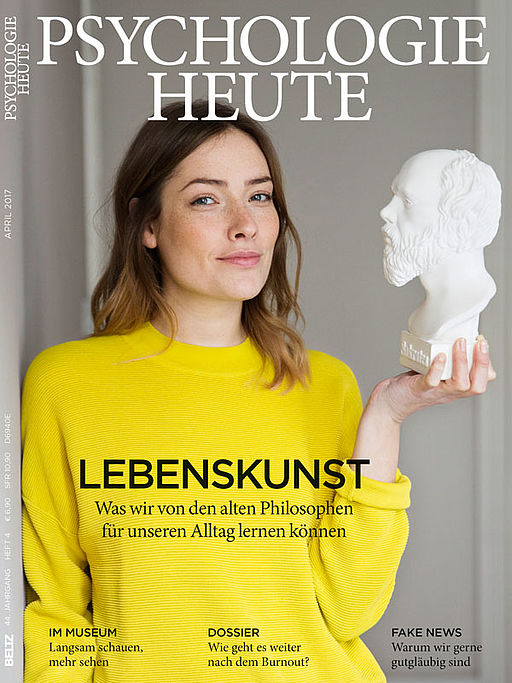 2017 psychologie heute for Psychologie heute abo