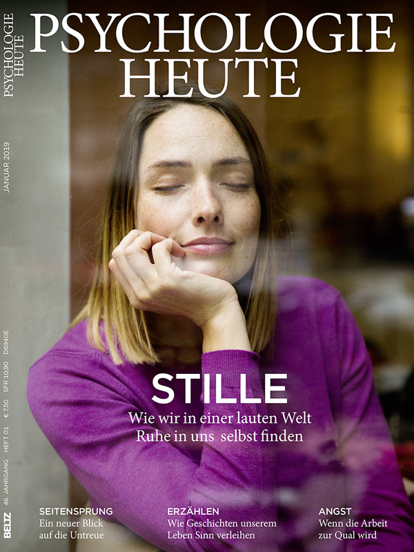 Psychologie Heute 1/2019: Stille